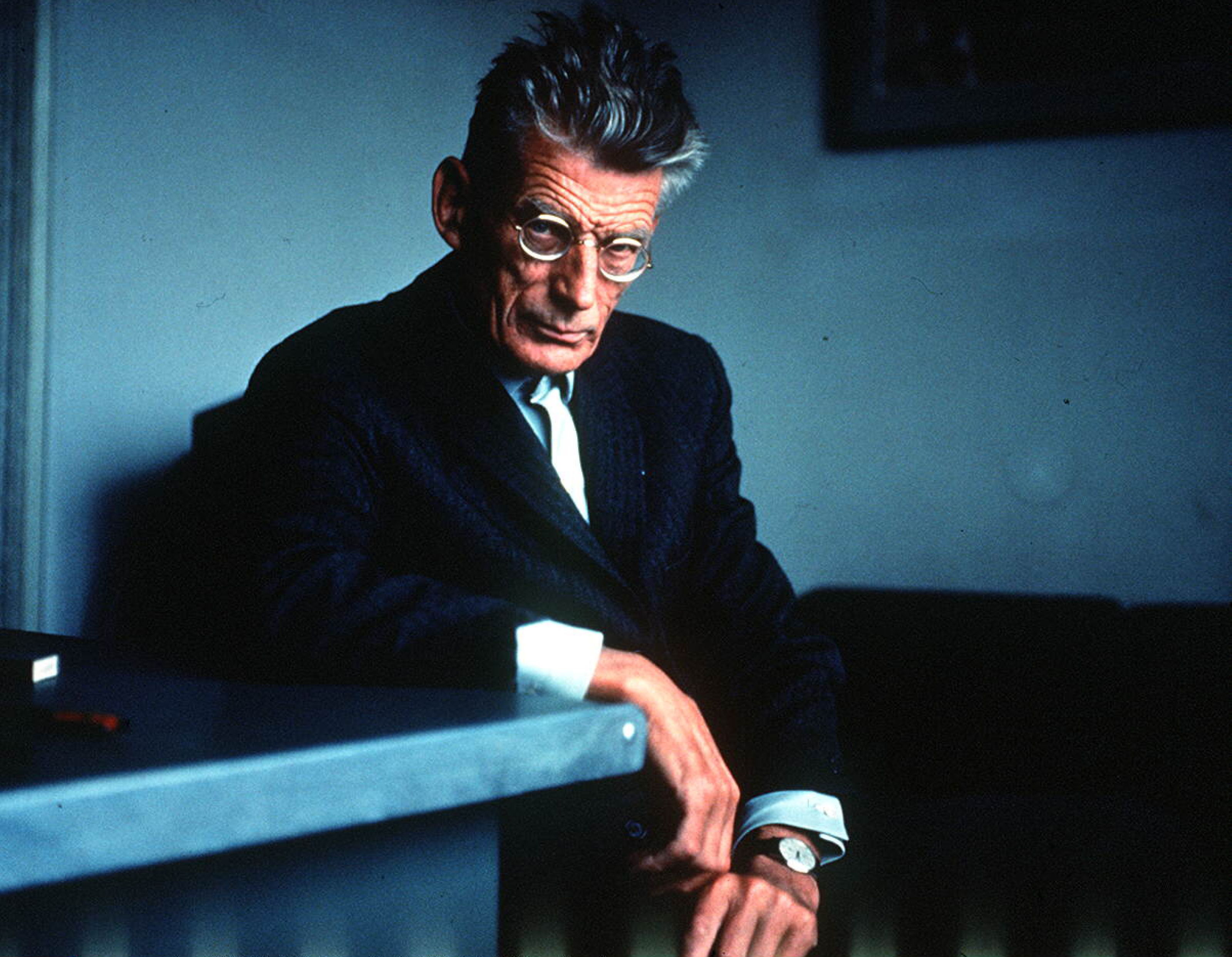 Samuel Beckett in Paris - 1960 Samuel Beckett