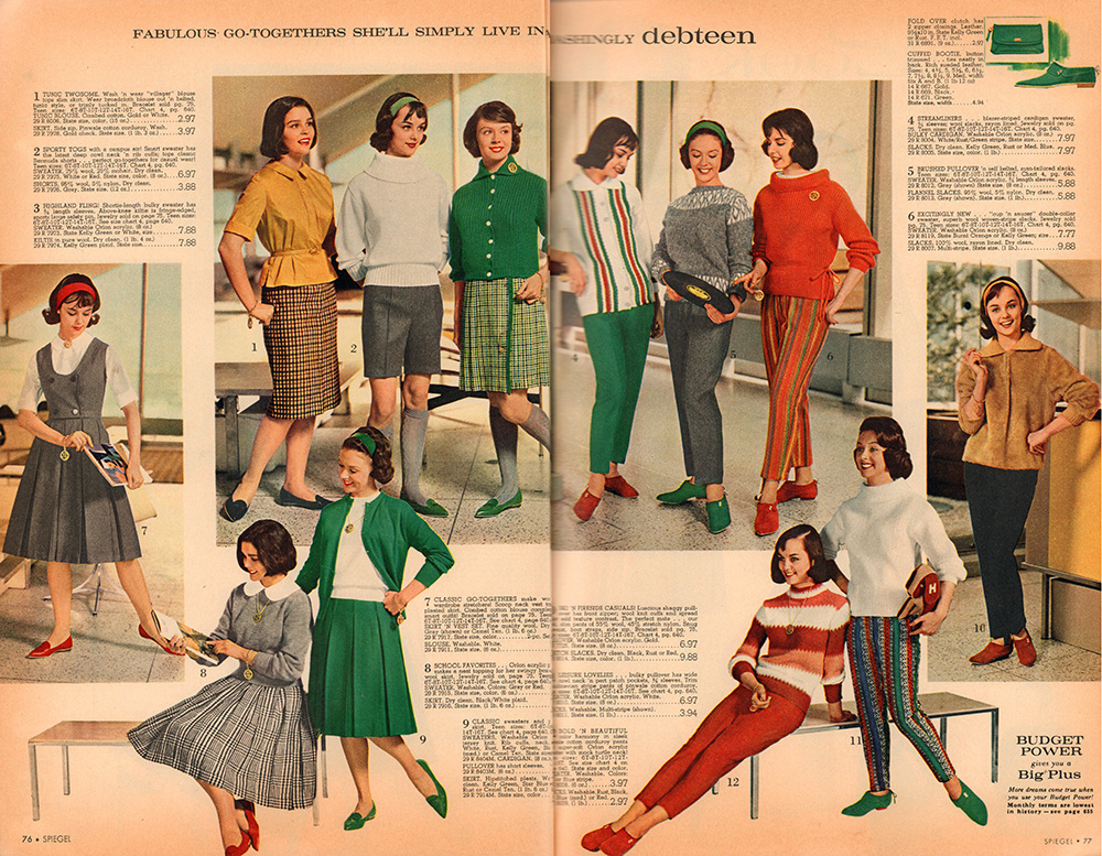 lessons in class the 1961 spiegel catalog flashbak