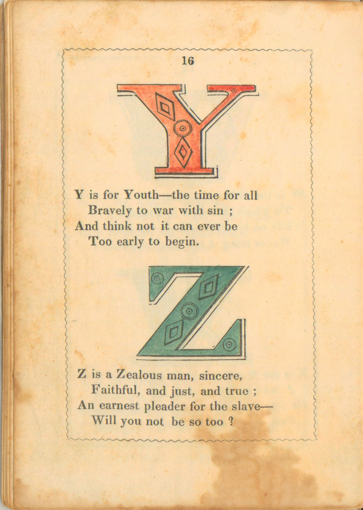 The Anti-Slavery Alphabet Mississippi