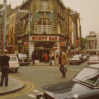 Snapshots of a Shabby and Grimy London in 1978
