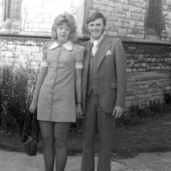 Valerie and Colin's Wedding Reception – Southampton, 1972