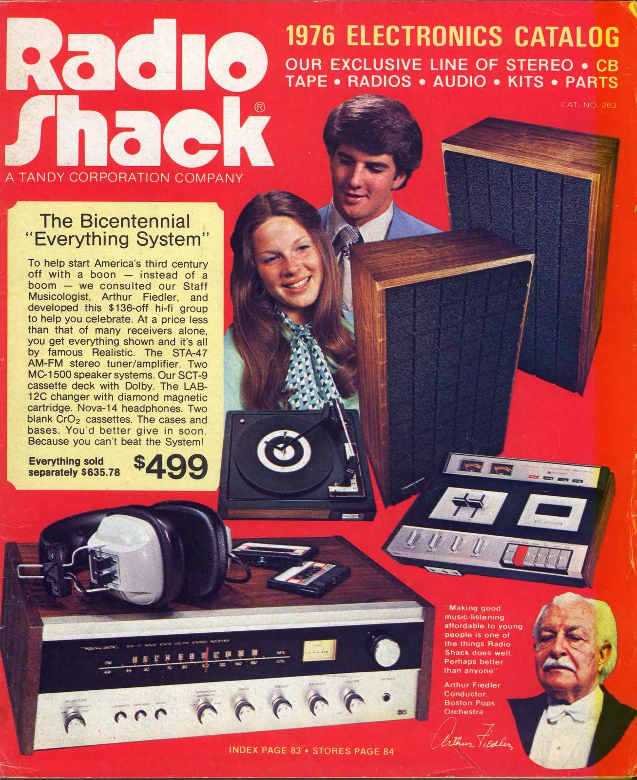 radio shack bicentennial issue