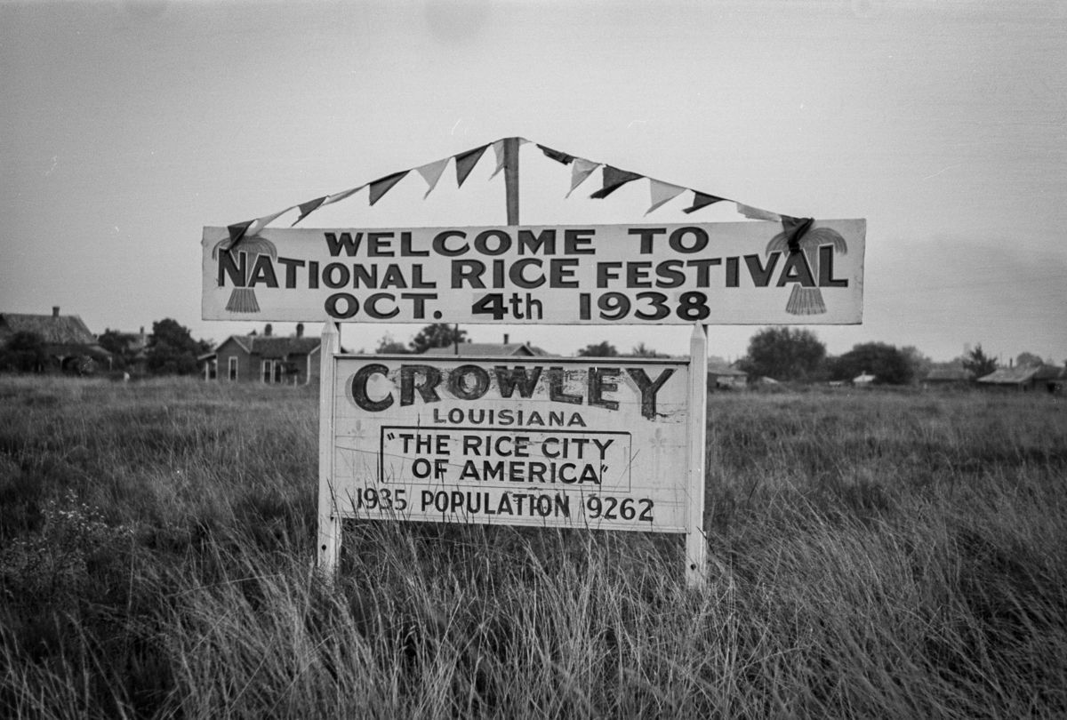 rice festival cowley louisiana 1939