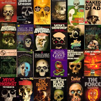 Skulls on Vintage Book Covers: A Frightfully Overused Motif