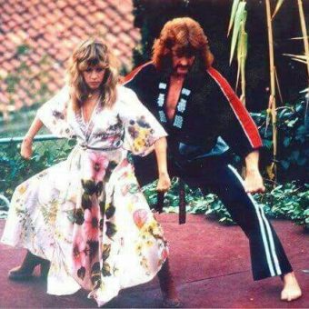 Stevie Nicks And Abba's Frida Star In This Women's Self Defense Manual (1983)
