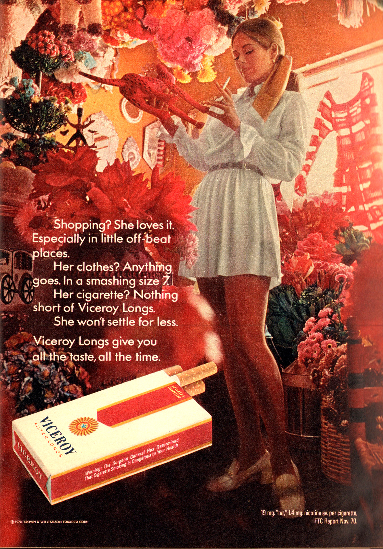 viceroy cigarette advert