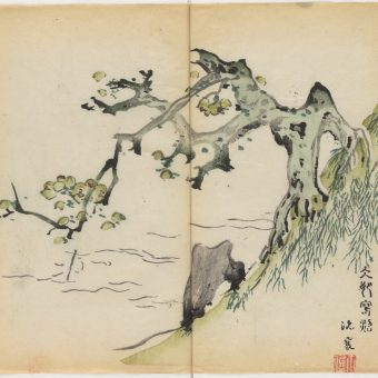 Every Illustration From Shizhuzhai Shuhua Pu – The World's Oldest Multicolor Book (1633)