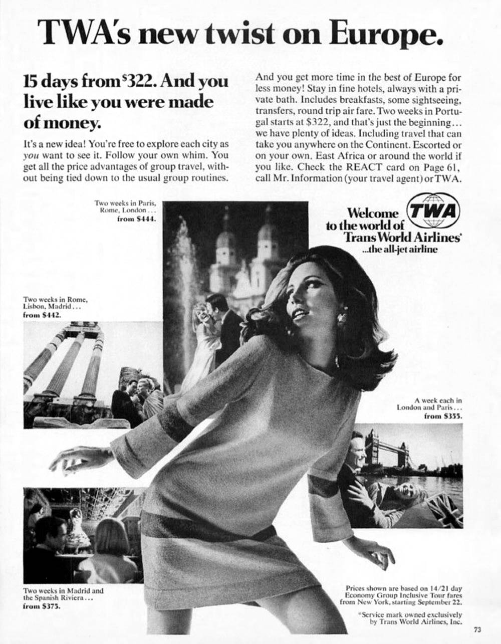1967 TWA Airlines