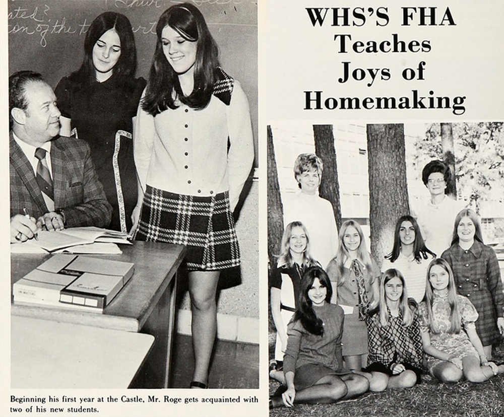1970s class yearbook