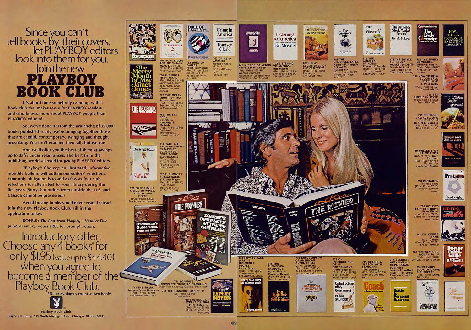 1971 Playboy book club