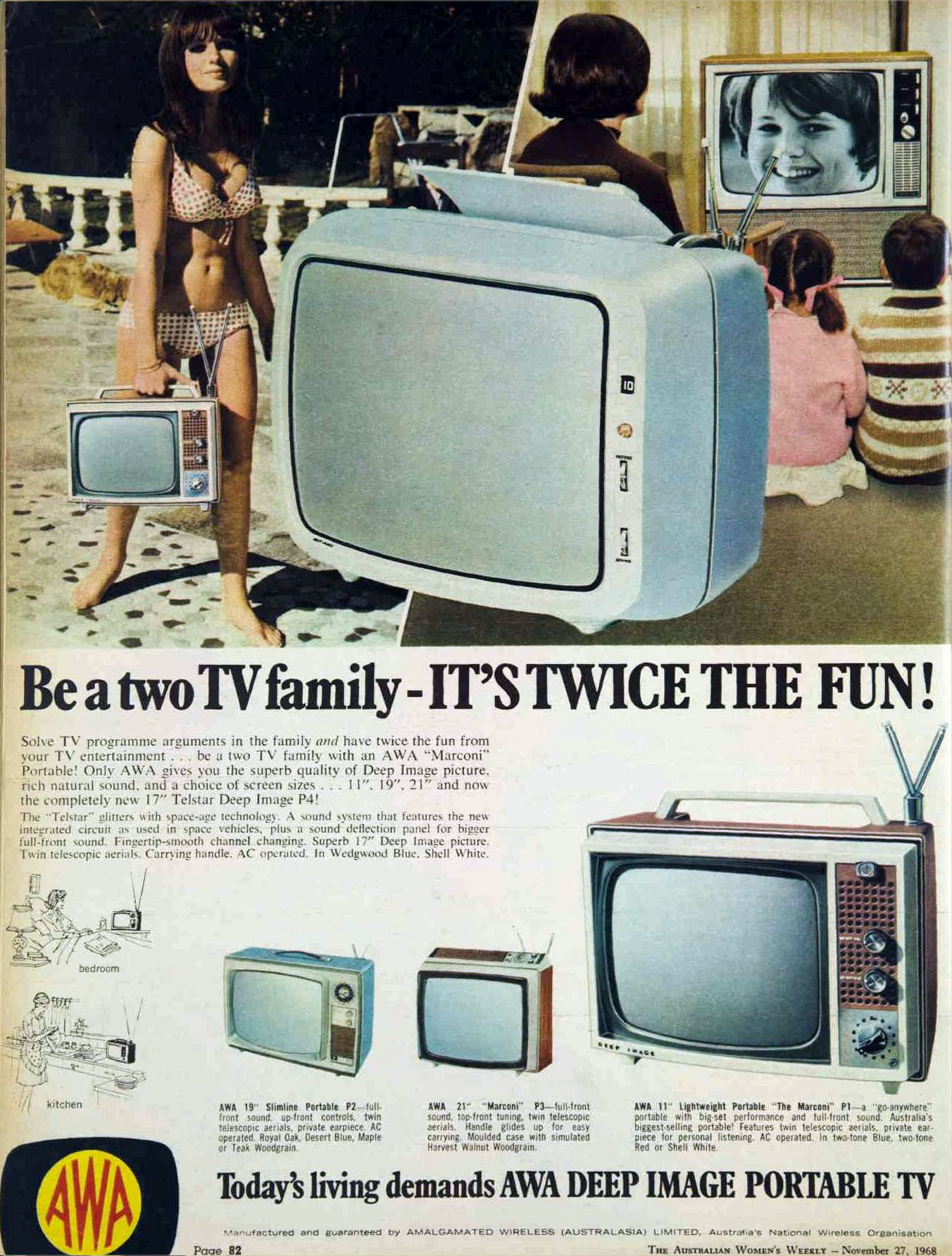 1971 Zenith Color TV-1