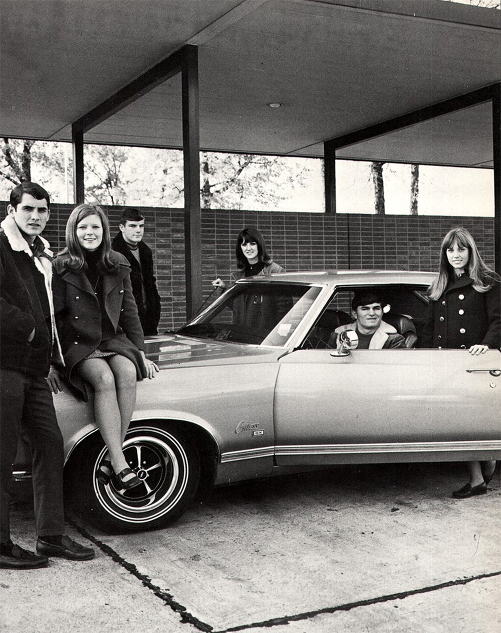 1971 youth and car