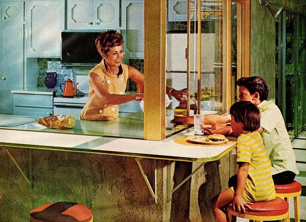 1972 kitchen