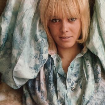 Anita Pallenberg In Underwear, Boots And A Bag: 1967 And All That