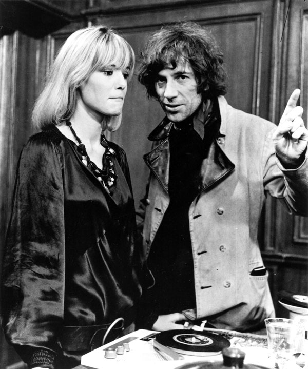 Anita Pallenberg With Donald Cammell on the Performance set, 1968