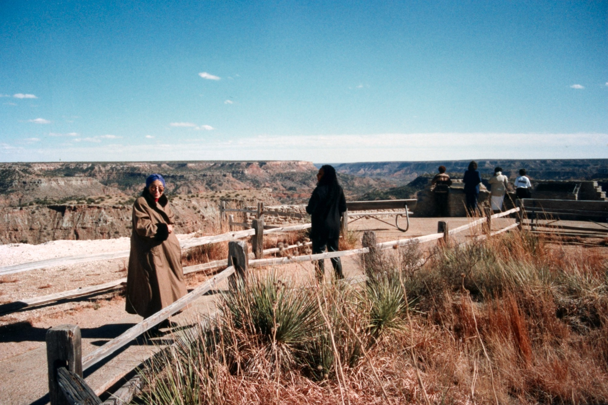At the Grand Canyon, Arizona, 1996
