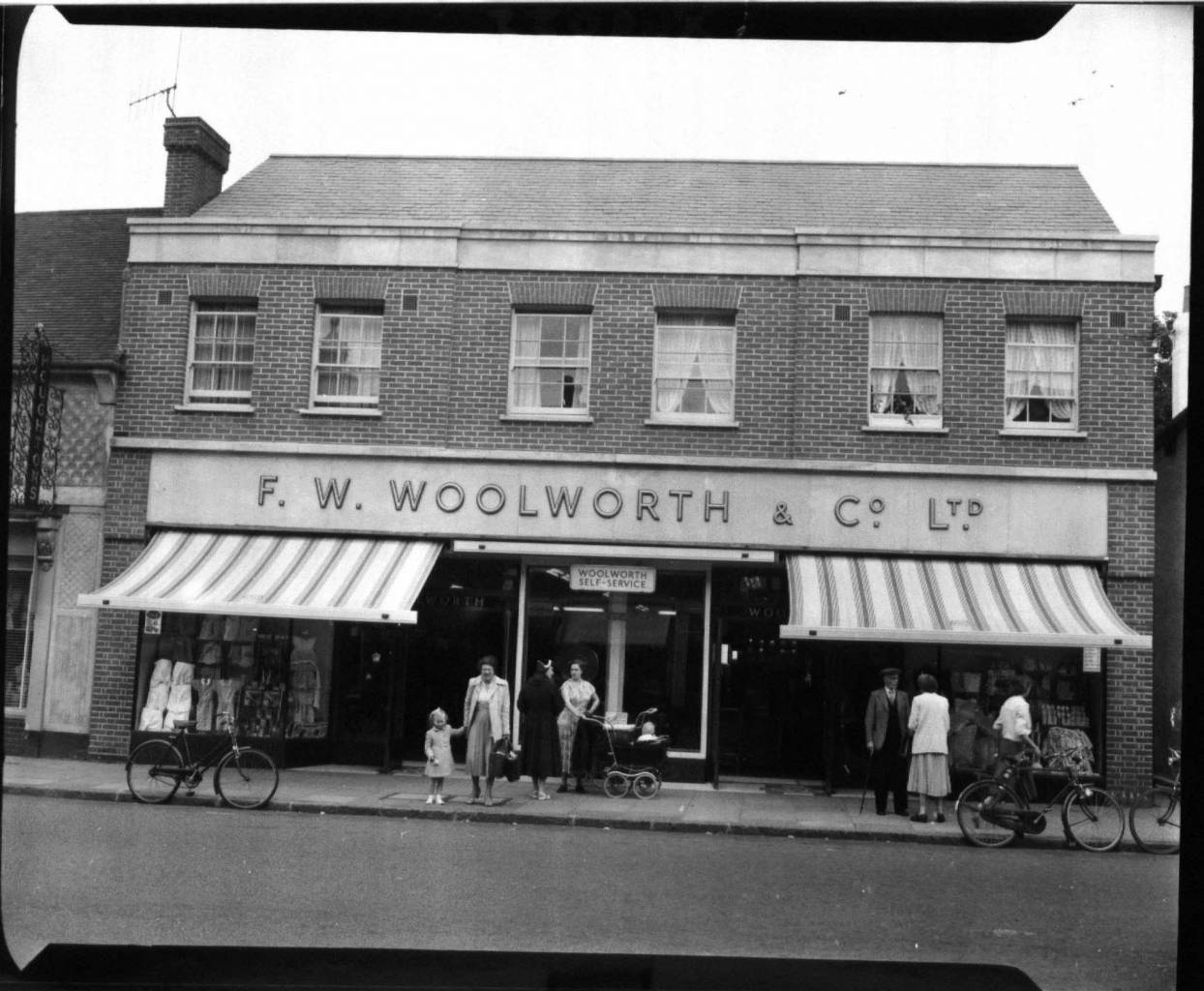 Billericay Woolworths 1950s