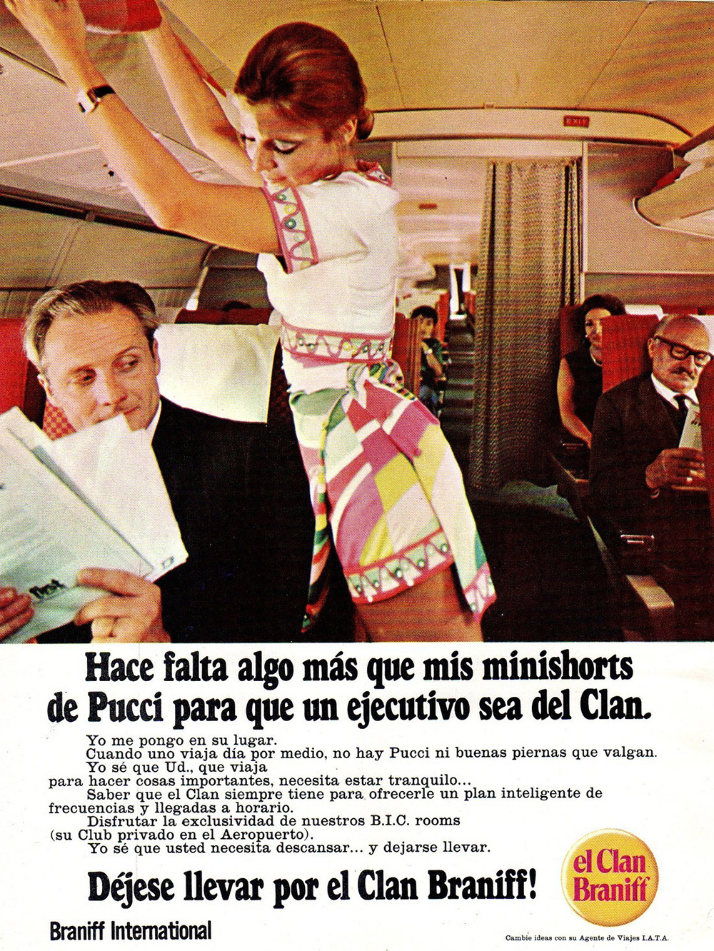 Braniff airline ad