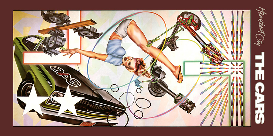 Cars - Heartbeat City - 1983 - Cover