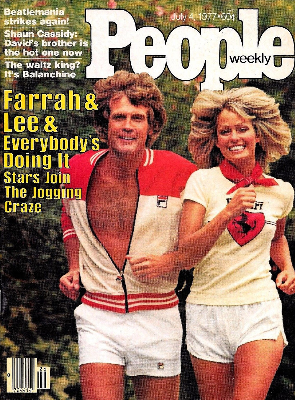 Farrah Fawcett cover lee majors