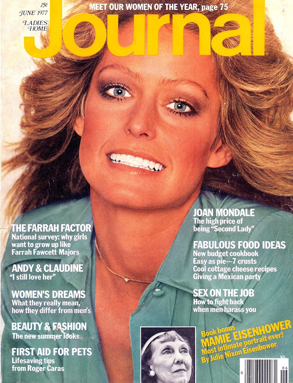 Farrah Fawcett journal June 1977