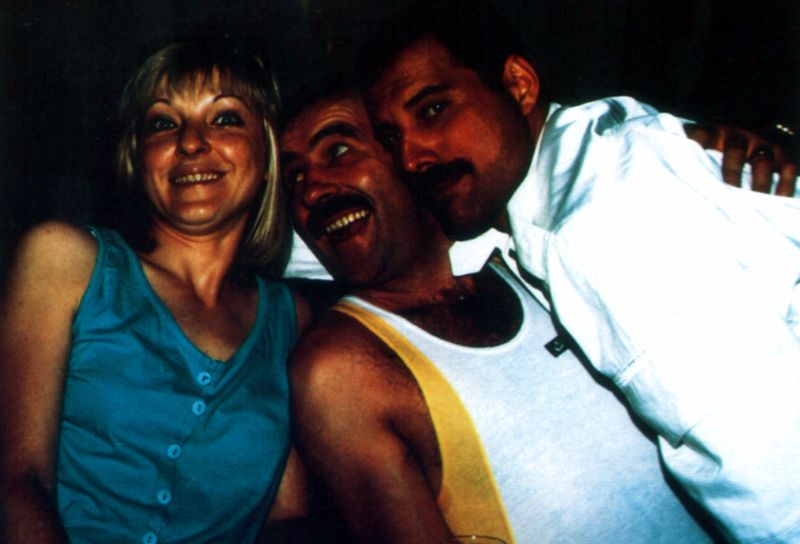 Freddie Mercury Jim Hutton