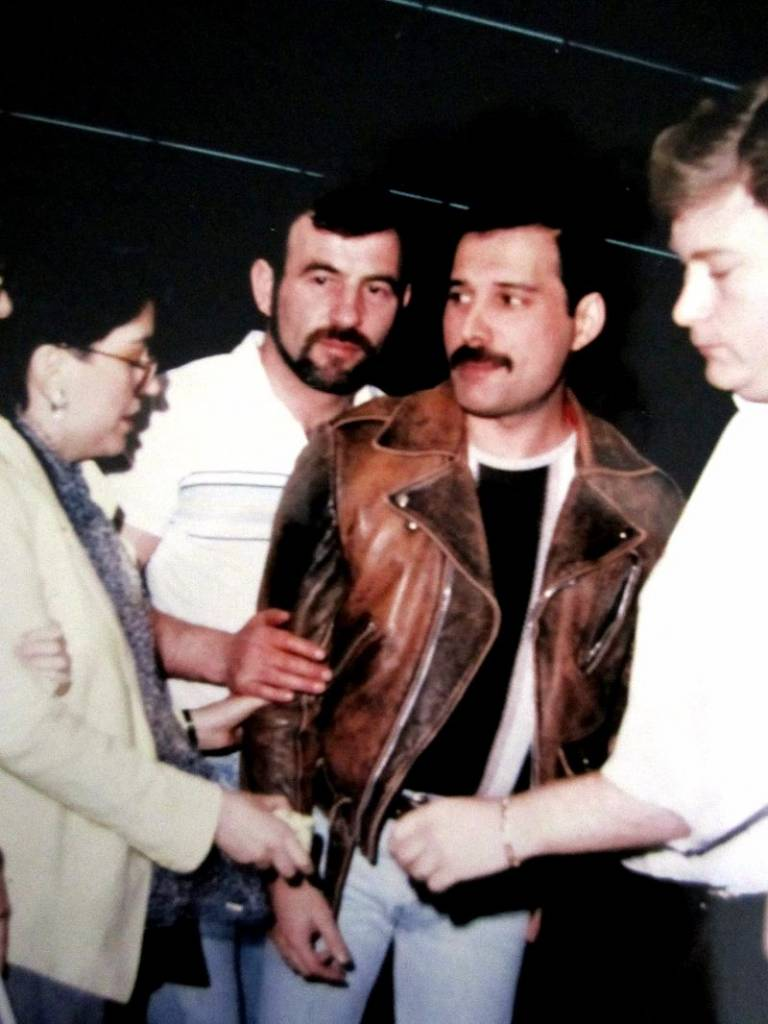 Freddie Mercury Jim Hutton 7 Flashbak