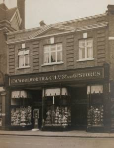 High Wycombe Woolworths 1926