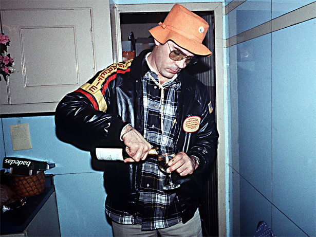 Hunter S Thompson drugs drink routine