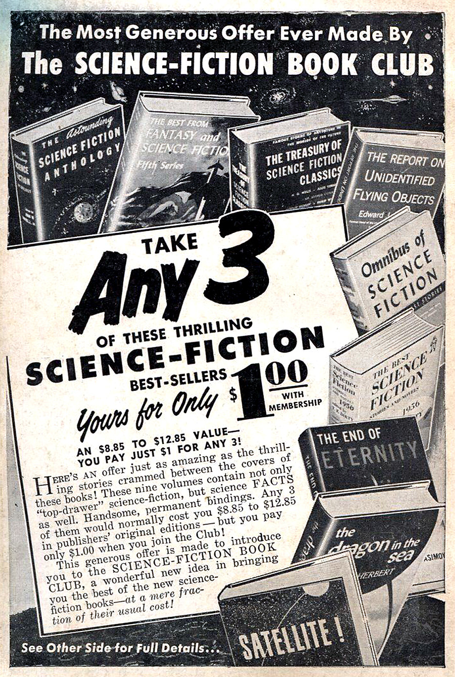 Infinity Science Fiction 3 1958