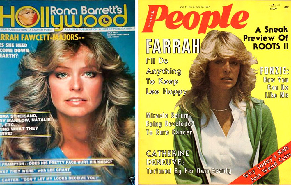 July 1977 Farrah Fawcett