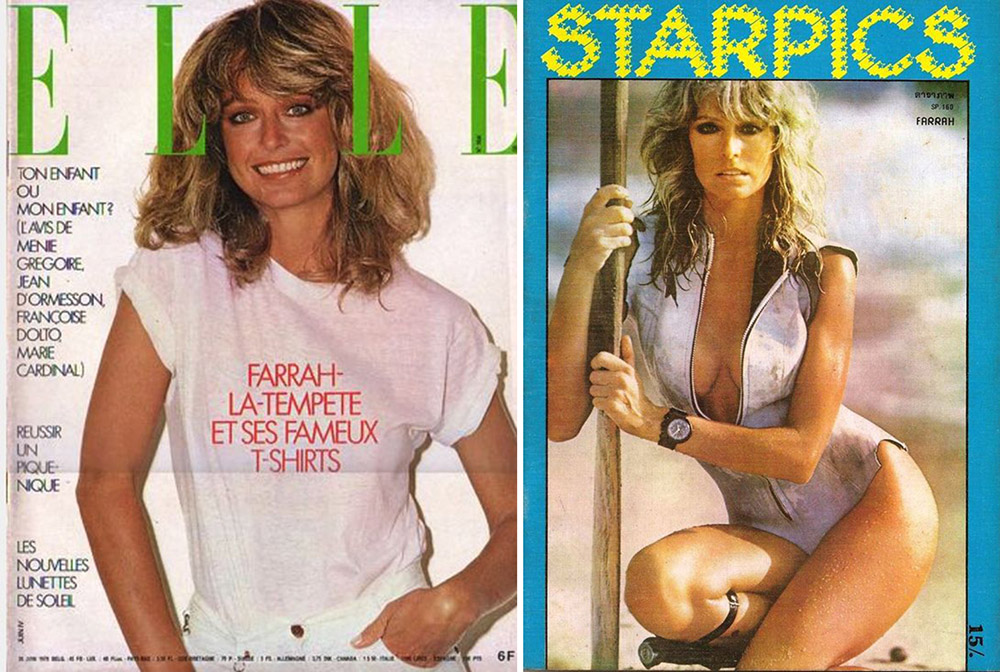 June 1978 Farrah Fawcett