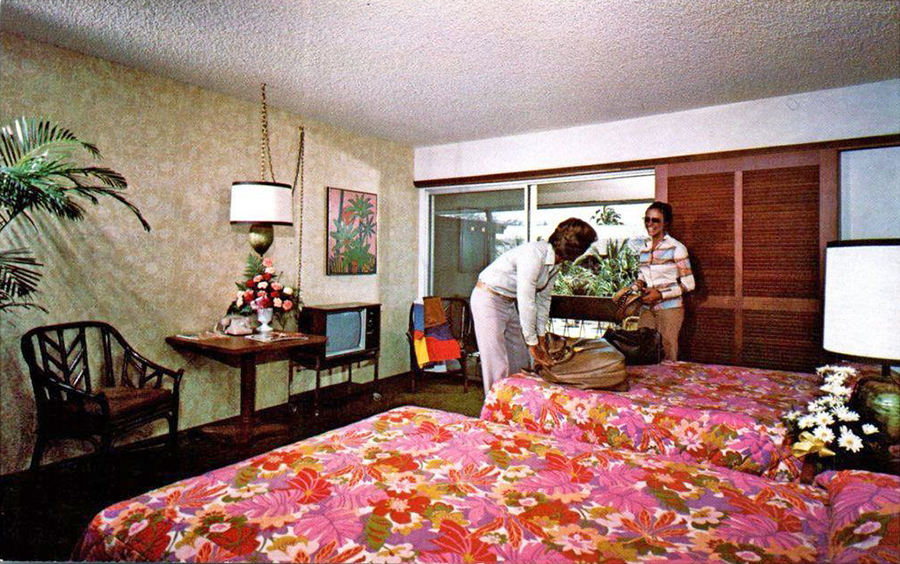 A Look Inside Hotel  U0026 Motel Rooms Of The 1950s-70s