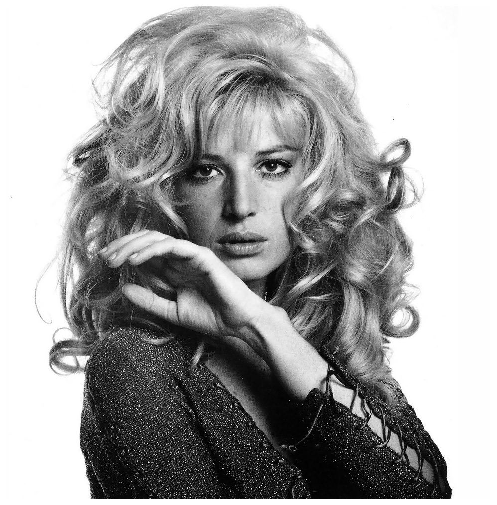 Monica Vitti, French Vogue, February 1969 Henry Clarke