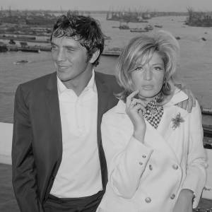 Terence Stamp and Monica Vitti 1965