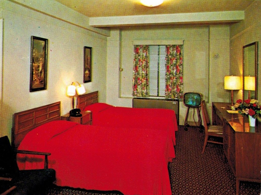 A Look Inside Hotel  U0026 Motel Rooms Of The 1950s