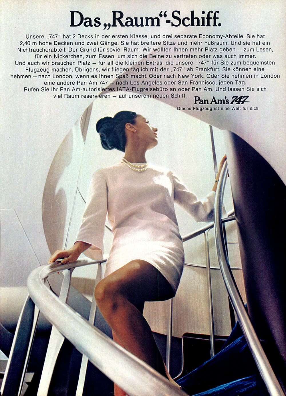 Pan Am advert vintage