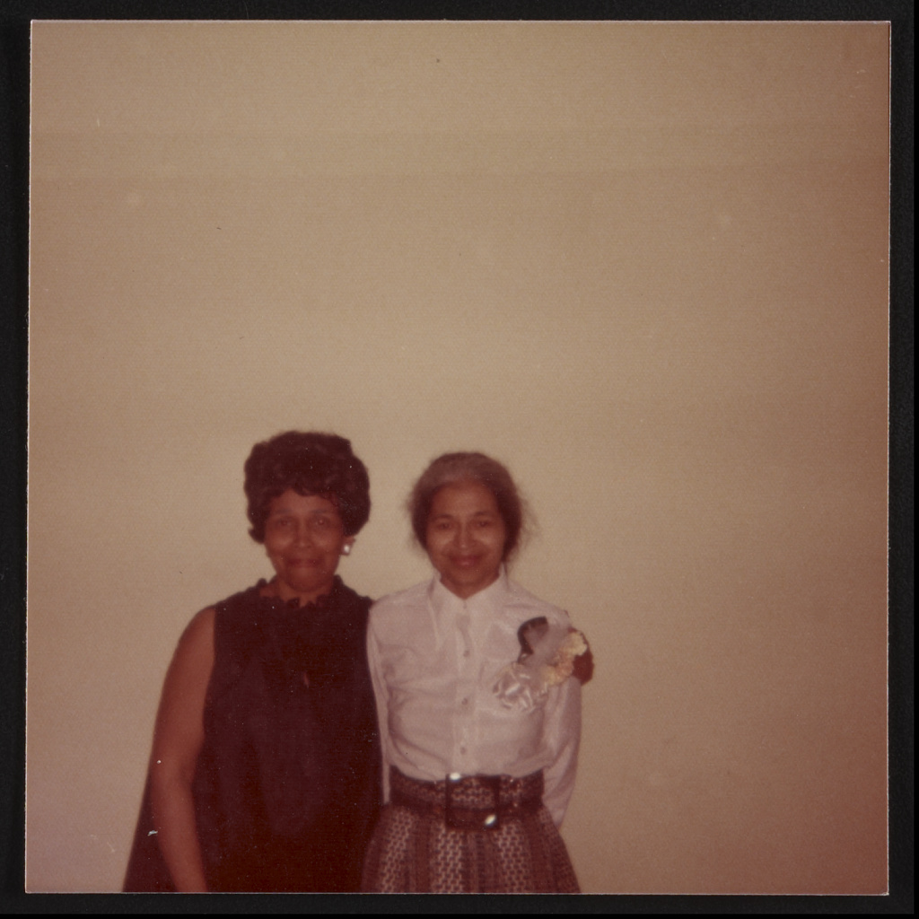 Patricia Cadwell & Rosa Parks, Detroit, Mich.