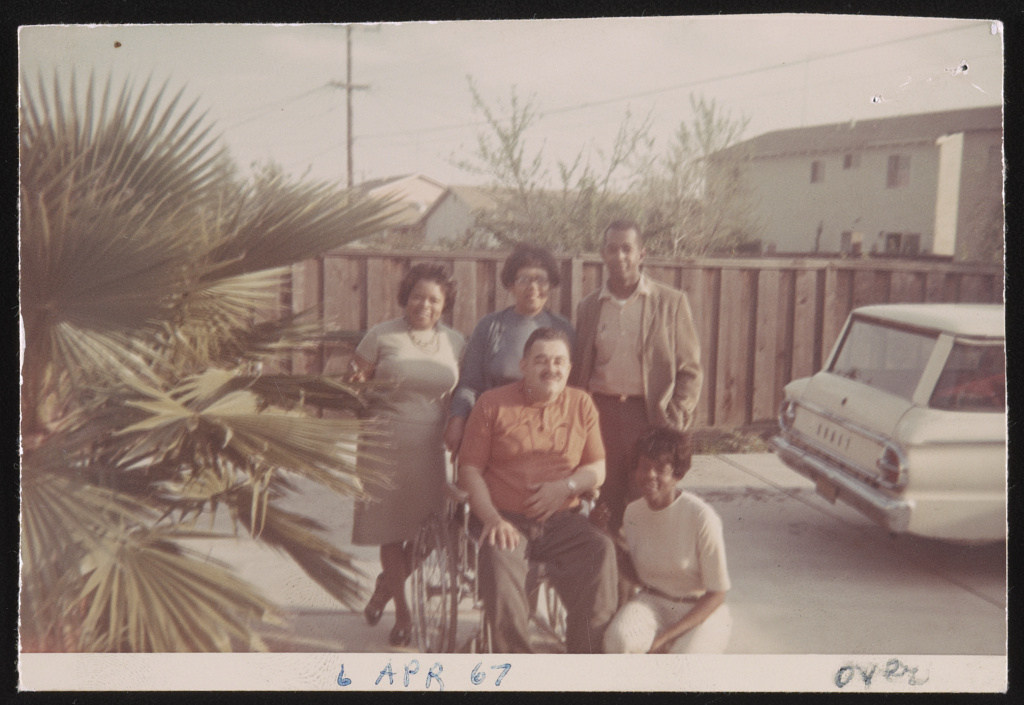 Rosa Parks' friends from California April 6 1967