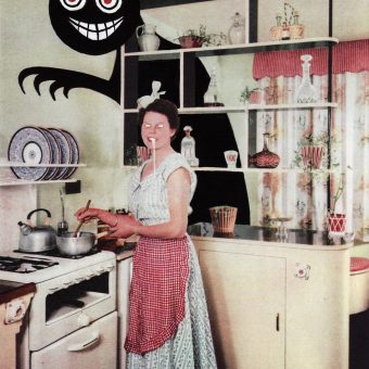 Sig Waller's Kitsch Gothic Invades 1950s Suburbia