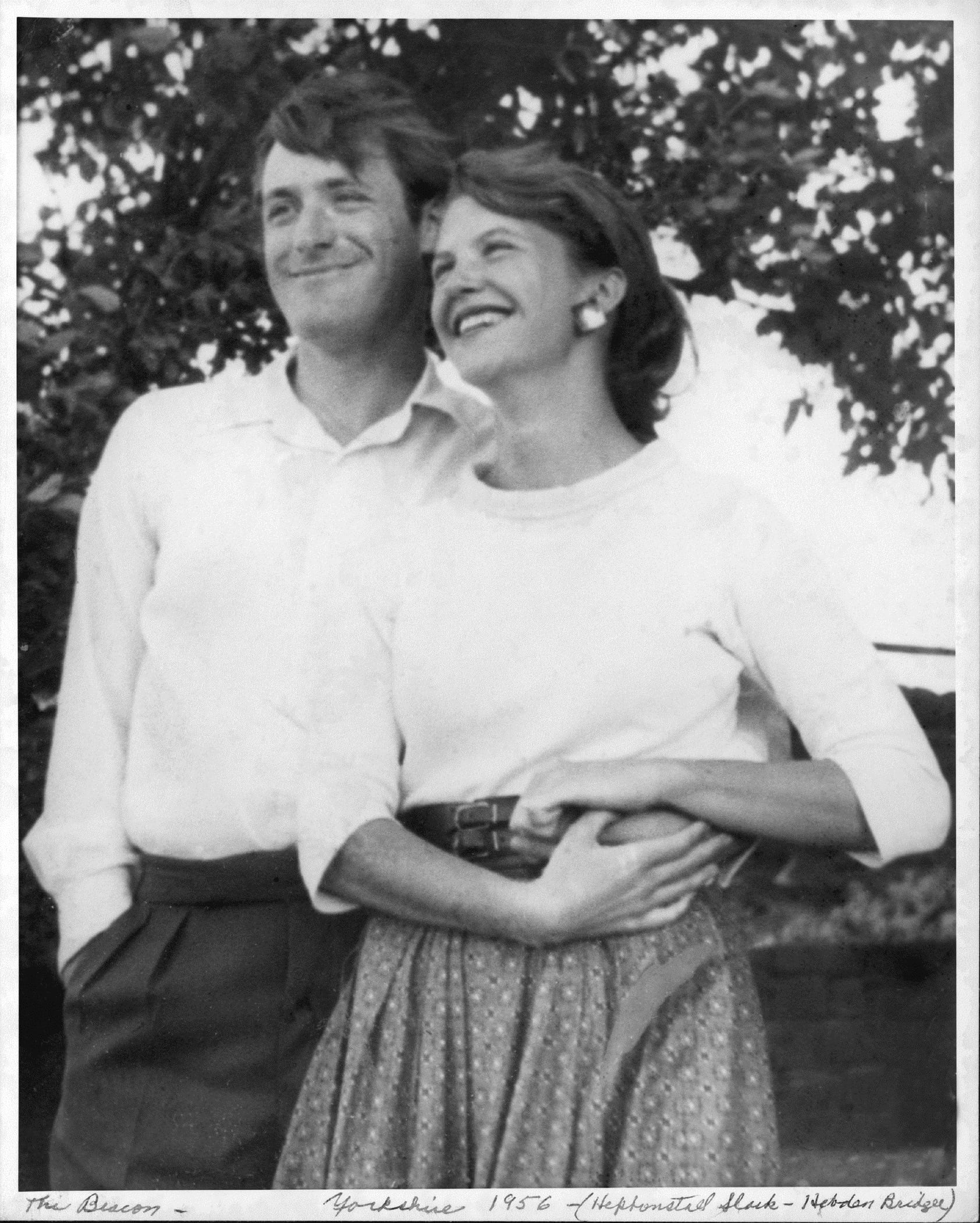 Ted Hughes and Sylvia Plath in Yorkshire, UK, 1956 Photograph: Harry Ogden/Courtesy Mortimer Rare Book Collection, Smith College, Northampton, Massachusetts