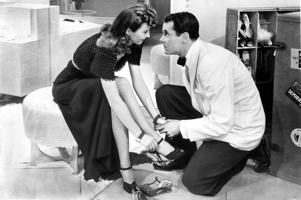 Barbara Stanwyck and Henry Fond in The Lady Eve