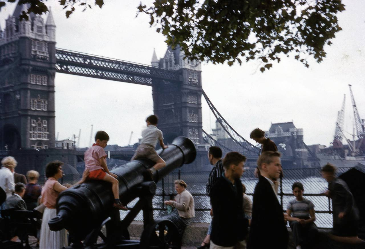 London Kodachrome 1950s