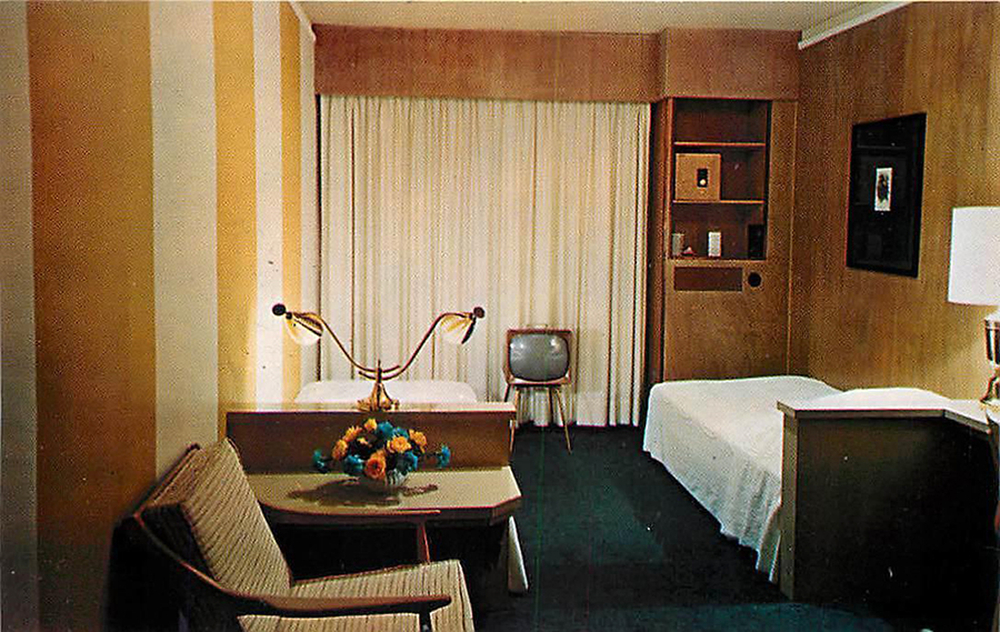 A Look Inside Hotel & Motel Rooms of the 1950s-70s