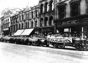 Woolworths celebrating its first Belfast store in 1915.