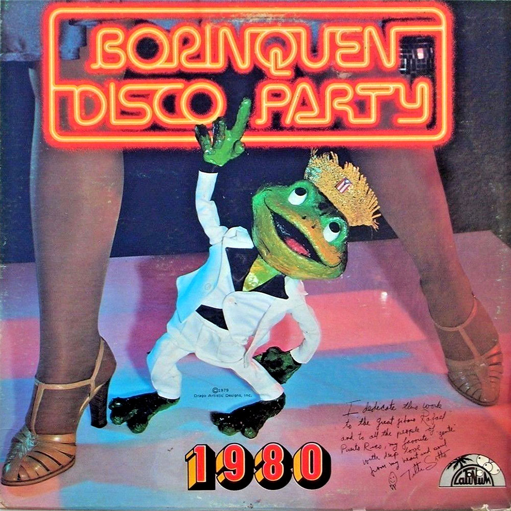 disco party record