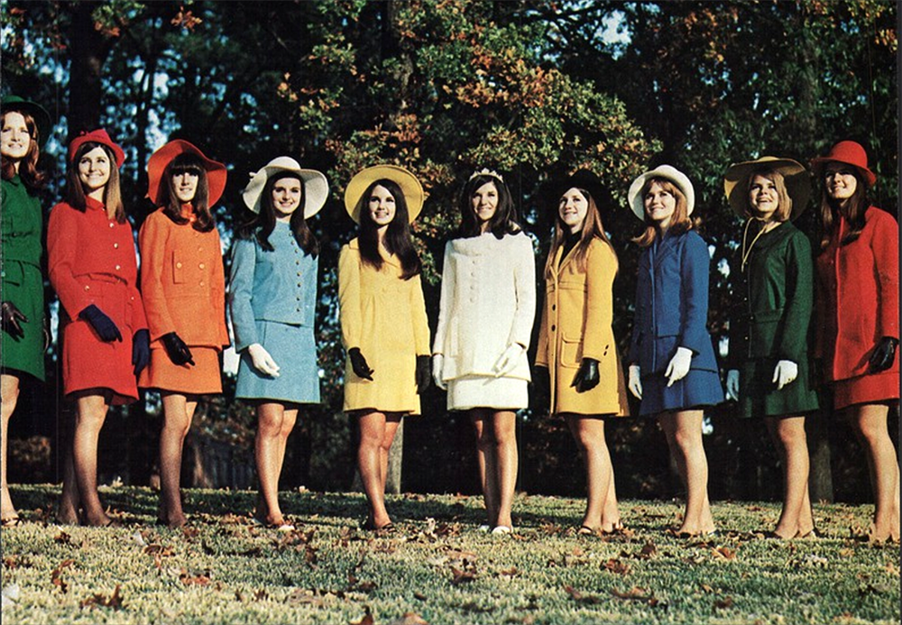 homecoming court 1969