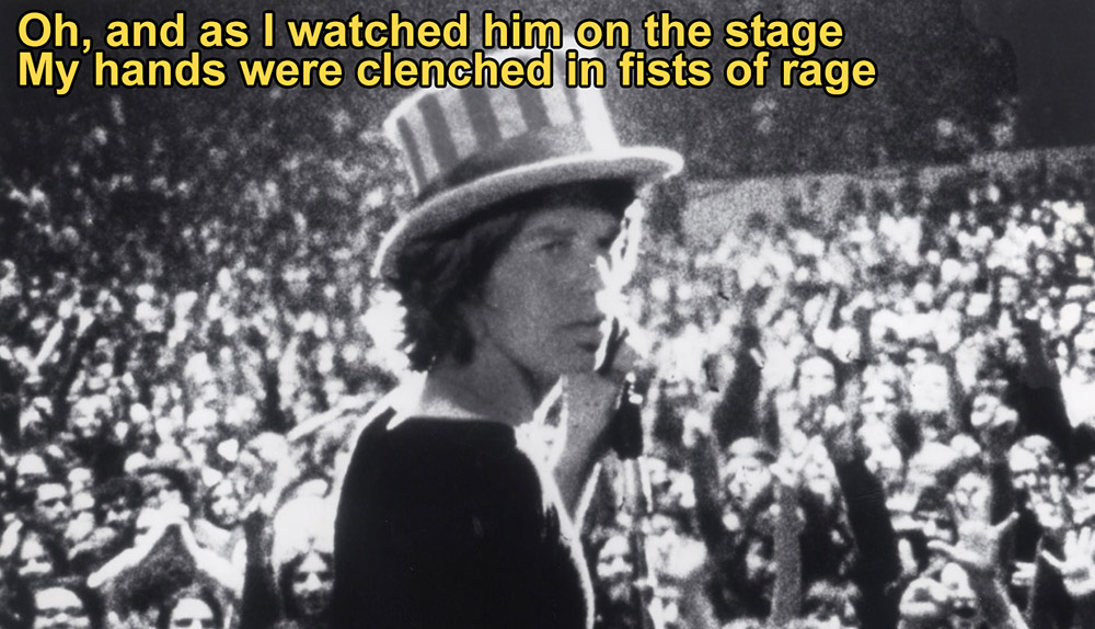 jagger at altamont