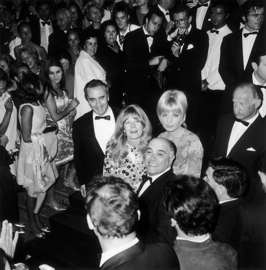 Michelangelo Antonioni, Monica Vitti and Vanessa Redgrave in Cannes