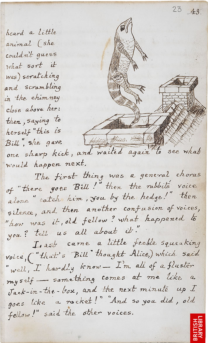 an analysis of lewis carrolls story the adventures of alice in wonderland Free story book for children: alice in wonderland by lewis carroll free child's audio book: lewis carroll's alice's adventures in wonderland.